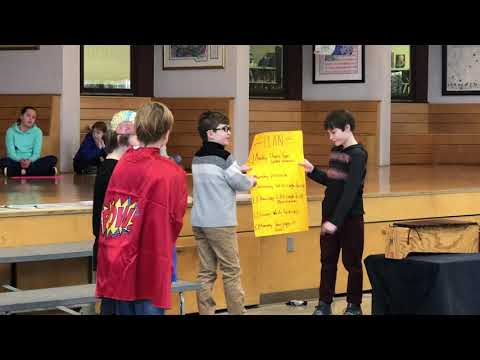 Canton Country Day School Grade 5 Presents Perseverance & Growth Mindset