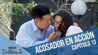 Acosador coreano en acción | En su propia trampa