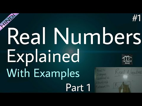 What are Real Numbers ? Class 9 Part #1 | Real Numbers | Numbers in [Hindi/Urdu]