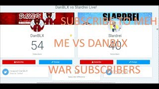 ROBLOX YOUTUBER BATTLE 🔥 ME VS DANBLX 🔥
