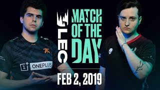 #LEC Match of the Day | Fnatic vs Misfits | Saturday 2nd