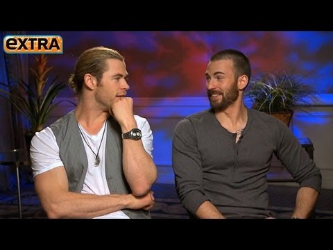 'The Avengers' Interviews: Chris Hemsworth and Chris Evans