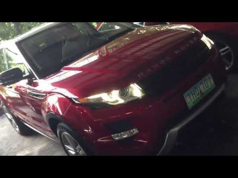 2012 Range Rover Evoque For Sale PHP 4.3 Million by Manila Luxury Cars