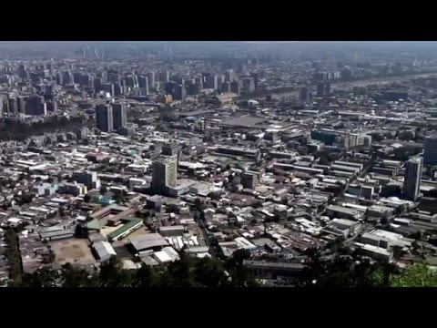 San Cristobal Hill in Santiago, Chile (Part 1)