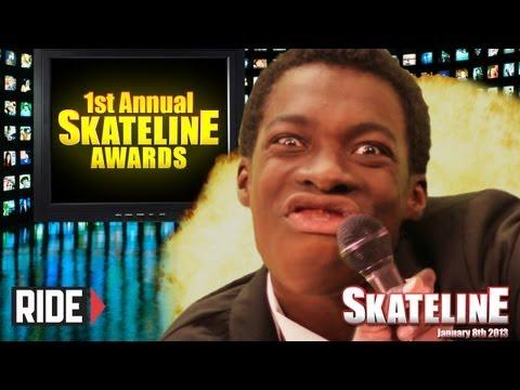 SKATELINE AWARDS 2012 - Guy Mariano,...