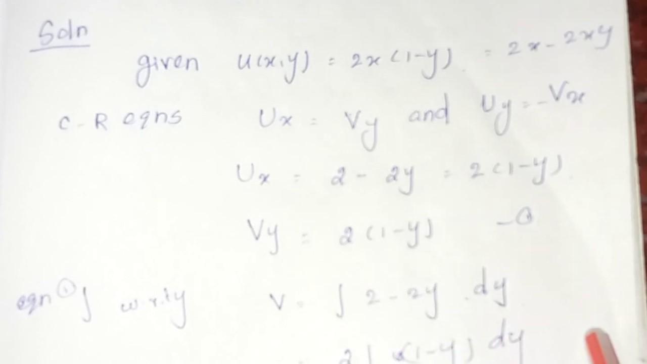 complex analysis problems