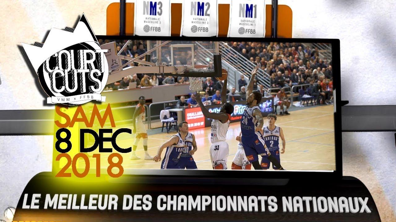 Top 10 CourtCuts FFBB du samedi 8 Décembre | Alerte poster traumatisant en n°1