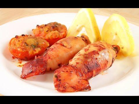 Кальмары в мультиварке с картошкой