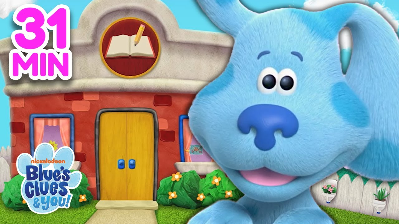 Download Going To School With Blue 📚 Compilation!   Blue's Clues & You