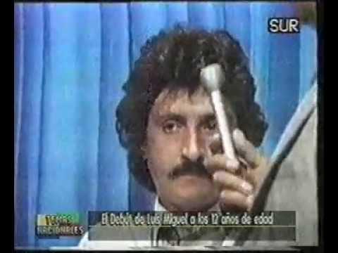 Luis Miguel - La Malagueña - Debut En TV 1981