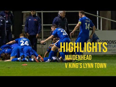 Maidenhead King's Lynn Goals And Highlights