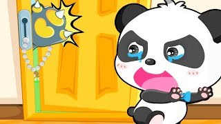 Baby Panda Daily Life | Kids Stay Home Safety And What Does Baby Do Daily - Fun Animated Baby Game