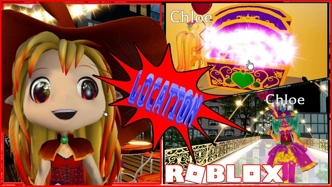 Chloe Tuber Roblox Royale High Gameplay Location Of All 7 Chests