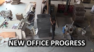 New Office Vlog #4 - MASSIVE Progress and LMG Arts & Crafts