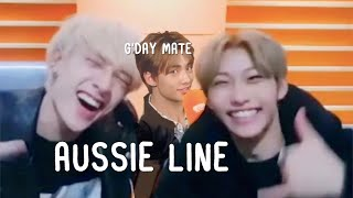 stray kids aussie line being your typical aussies (ft. aussieboos)