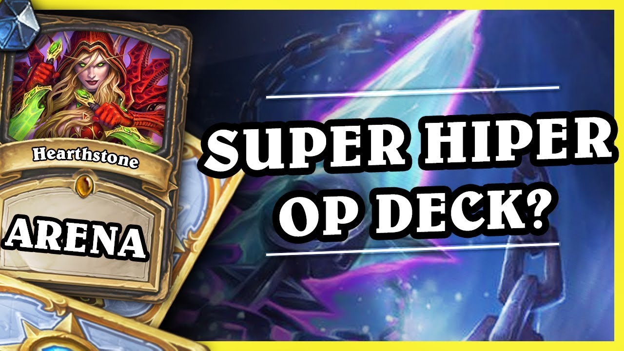 SUPER HIPER OP DECK? – ROGUE – Hearthstone Arena