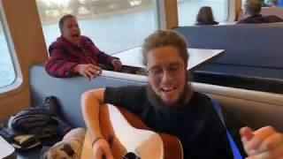 Kevin Curran live on Bainbridge Island ferry