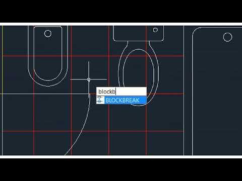 Como Colocar Blocos CAD Sobre As Tramas Sem As Recortar No DRAFTCAD, Software CAD