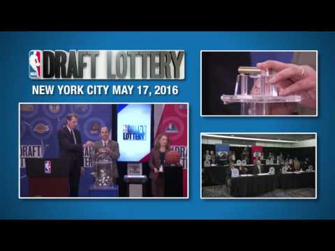 2016 NBA Draft Lottery Drawing