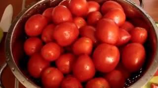 Томатная паста дома. Консервация и заготовки на зиму помидор. Турецкий вариант