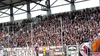 St.Pauli Fans in Ingolstadt 2013