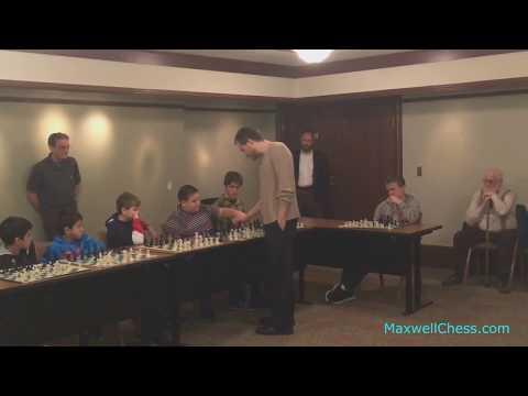 Chess Education Simultaneous Display (MaxwellChess.com)