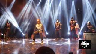 itz tiffany perform dance neke neke 4syte music video awards by fastwan tv