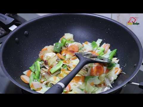 ৪টি সবজি দিয়ে চাইনিজ ভেজিটেবল তৈরি | Bangladeshi Style Chinese Vegetables Recipe | Vegetables