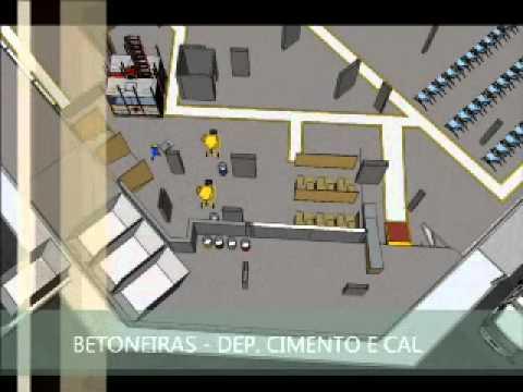 Projeto de canteiro de obras youtube - Modelos de barbacoas de obra ...