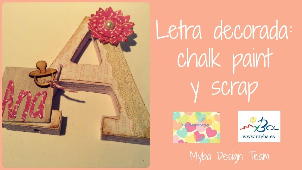 Love letras de madera decoradas con papel scrap ideas - Ideas para decorar letras de madera ...