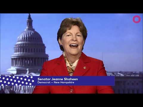 Senator Jeanne Shaheen (D-NH)   Global Citizen Festival NYC 2017