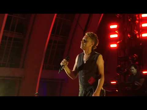 Depeche Mode - Somebody (live) - Hollywood Bowl LA - October 12, 2017 HD