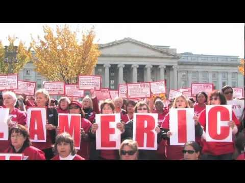 National Nurses United Fights for a Financial Transaction Tax