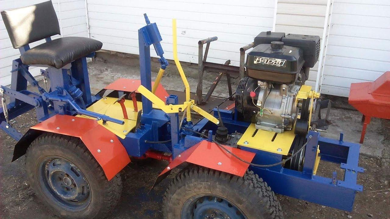 Трактора с ломающееся рамой своими руками фото 928