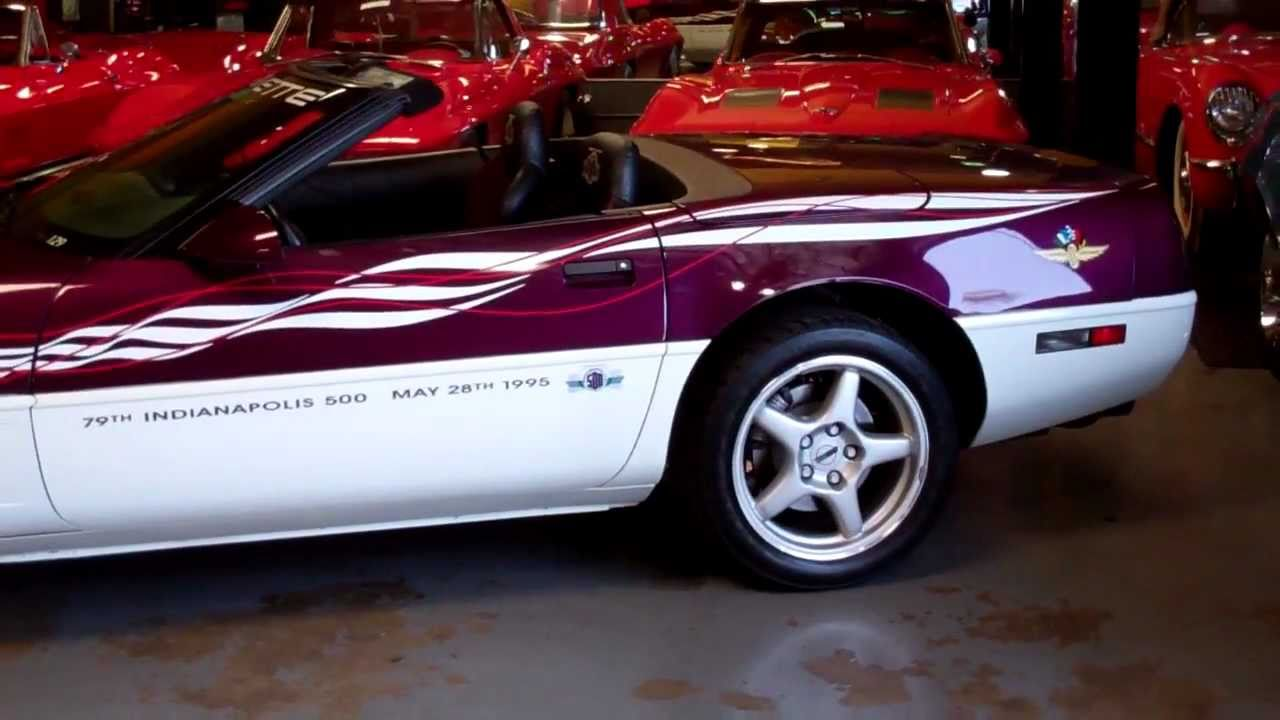 1995 Corvette For Sale >> SOLD 1995 Indy pace car 4 for sale by Corvette Mike.mpeg - YouTube