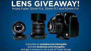 Fujian lenses Giveaway by Chung Dha