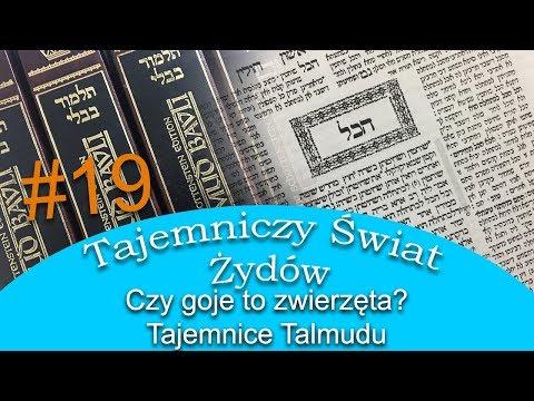 Czy goje to zwierzeta - Tajemnice Talmudu - Tajemniczy Świat Żydów #19