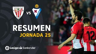 Resumen de Athletic Club vs SD Eibar (1-0)