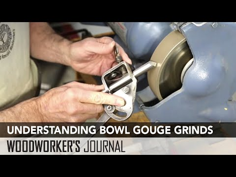 How to Sharpen and Use Bowl Gouges   Woodturning Essentials