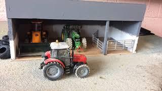 """""""Cattle handling"""" Stop Motion Model Farm"""