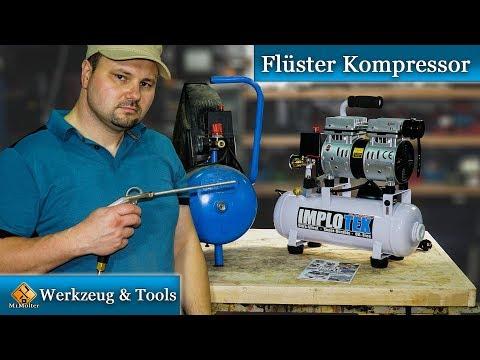 Turbo Flüster Kompressor Ölfrei / Mein neuer Silent Kompressor - Review EB95