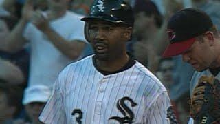Harold Baines' final Major League base hit