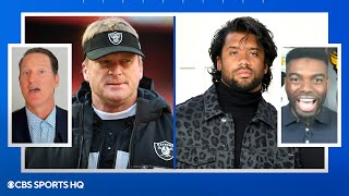 Raiders are favorites to trade for Russell Wilson | CBS Sports HQ