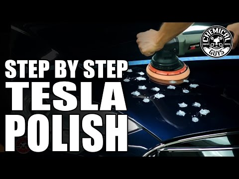 How To: Step By Step Polish - Tesla Model S - Chemical Guys