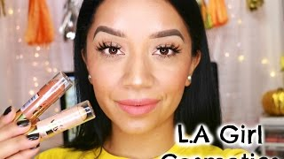 Full Face First Impressions | L.A Girl Cosmetics + Giveaway *CLOSED*
