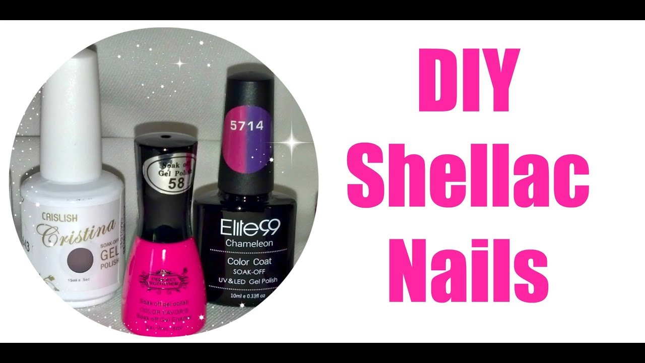 Diy shellac nails youtube solutioingenieria Images