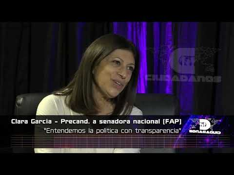 (Anticipo) Clara García - precandidata a senadora nacional por el FAP - Ciudadadanos 05 09 21