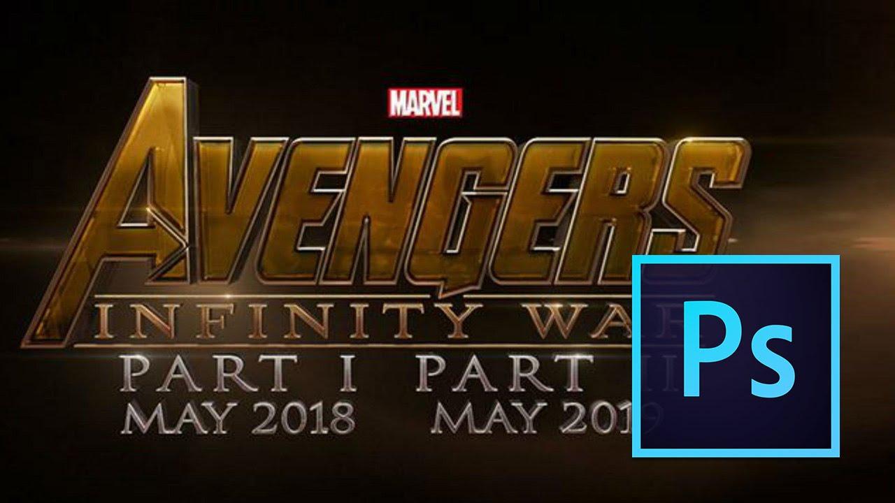 Infinity War Poster Psd