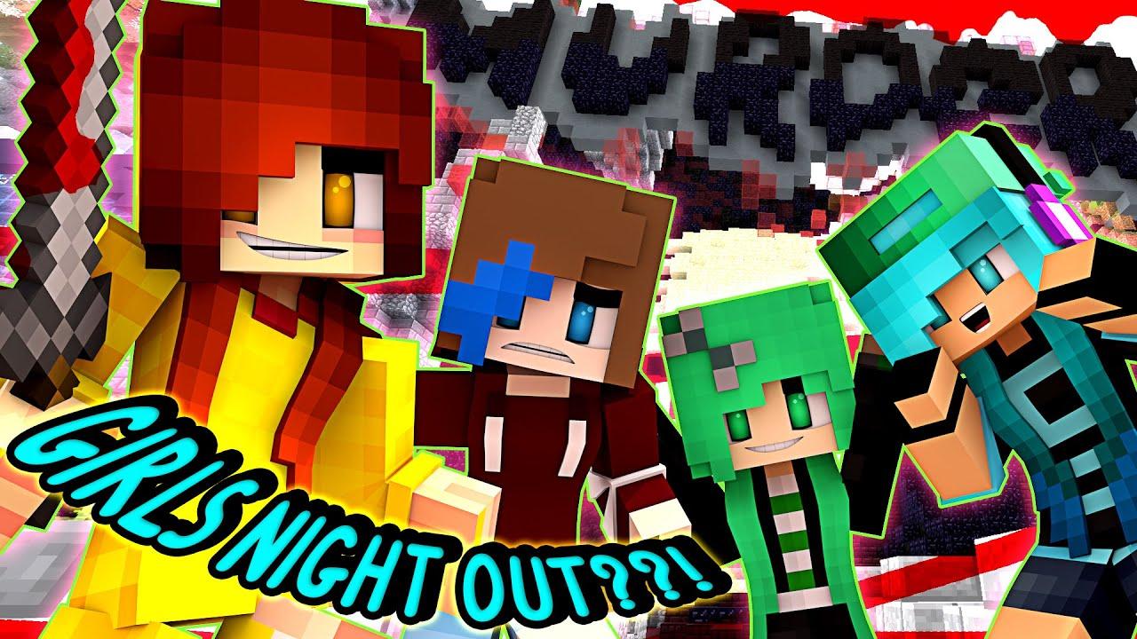 Minecraft Skin Wallpaper Girl Murder All Girls Night Out Chadna And Audrey
