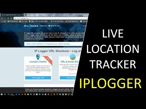 Track Live Location With One Click | IPLOGGER | Hindi/English | Track  Android Live Location